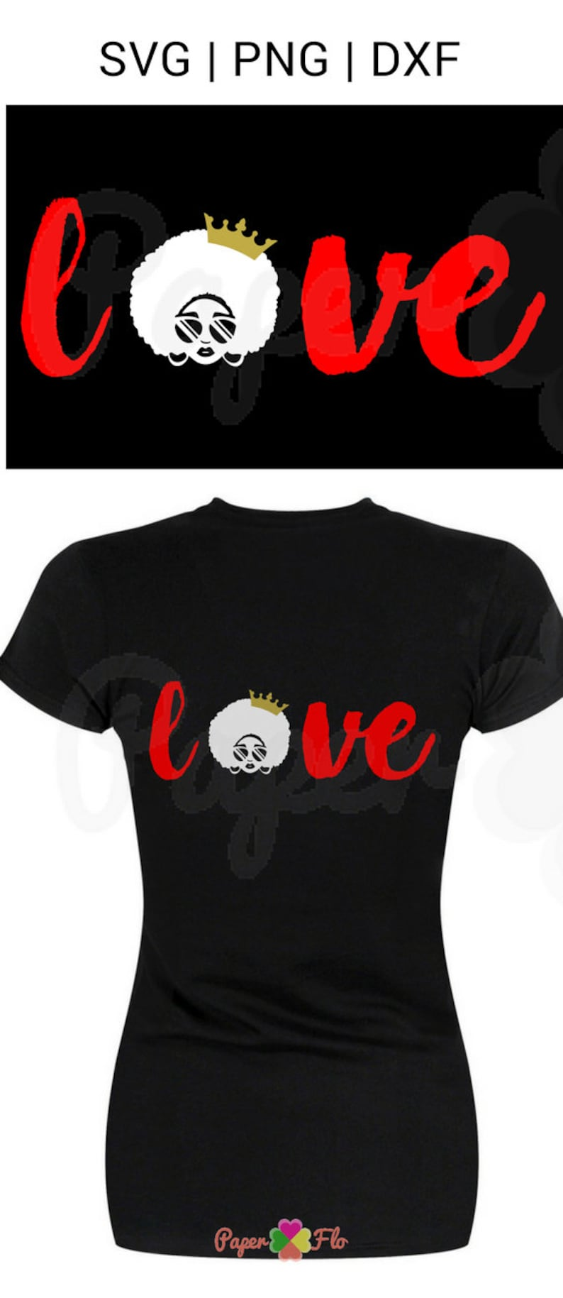 Download Love afro SVG sunglasses clip art black woman svg files   Etsy
