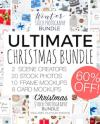 Ultimate Christmas Branding Bundle Christmas Scene Creators Etsy