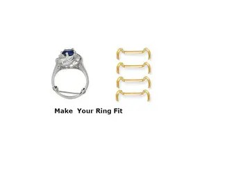 Gold Ring Guard Etsy