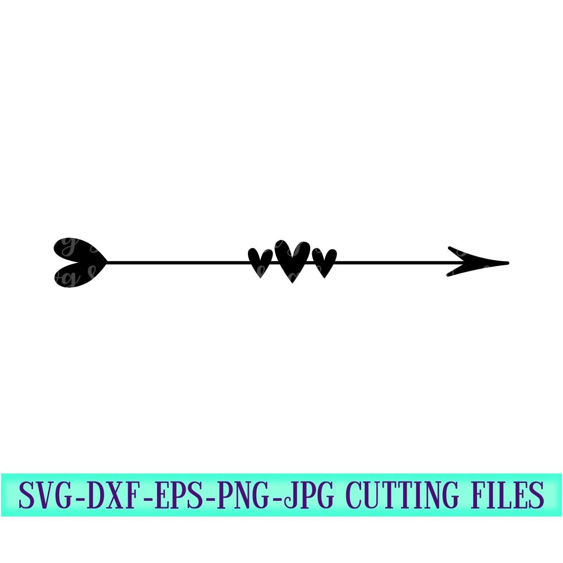 Download Monogram Arrow svg,Valentine Arrow svg,Love svg,Valentine ...