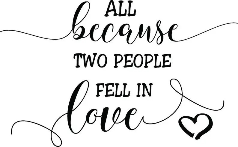 Download All because two people fell in love SVG Baby SVG Baby ...
