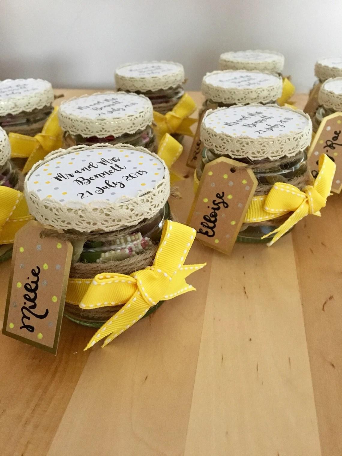 Personalised Sweet Jar