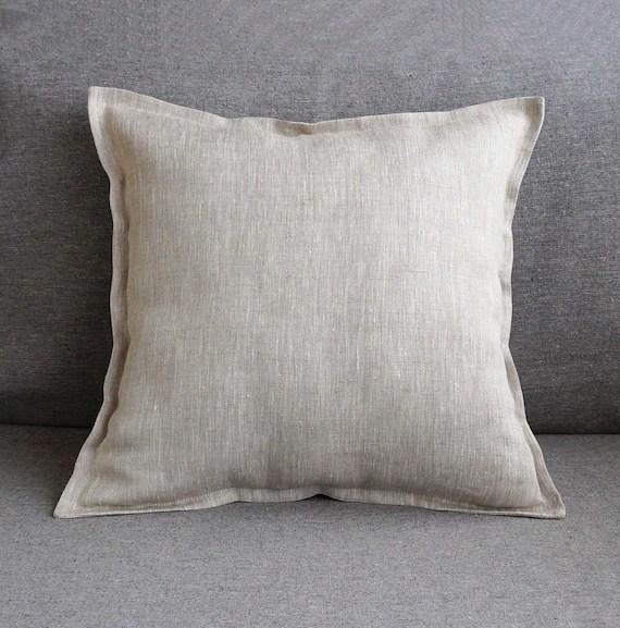 flange 24x24 linen euro sham 26x26 gray throw pillow covers 20x20 16x16 18x18 linen pillowcase zipper 22x22