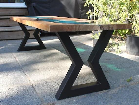 hourglass metal table legs dining table legs coffee table legs bench legs desk legs steel table legs metal furniture legs