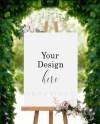 Poster Stock Mockup Image Wedding Sign Wedding Stock Images Etsy
