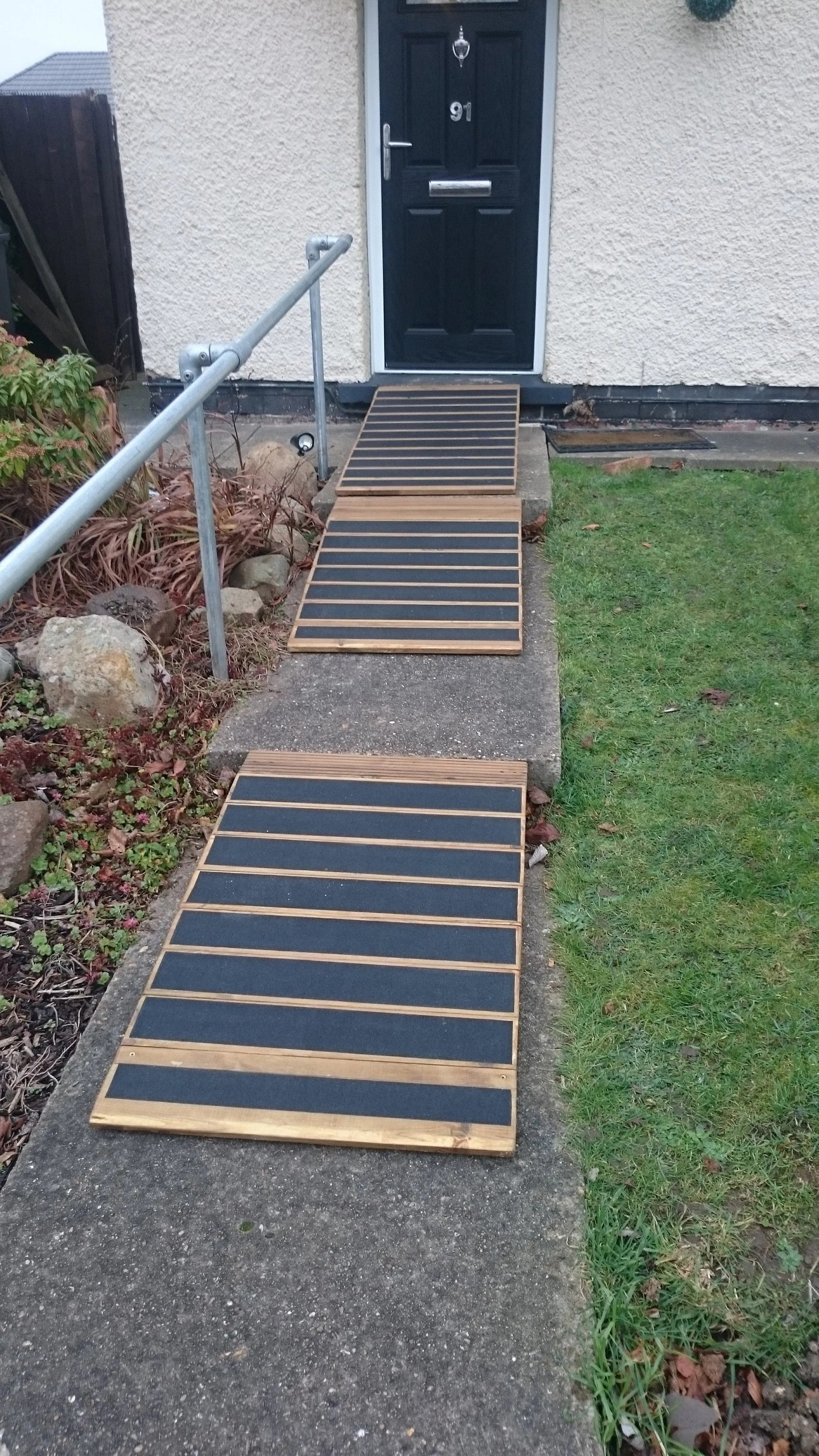 Giant Wheelchair Disabled Step Ramp