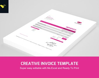 Photography invoice   Etsy Invoice Template For Photographers   Invoice Template Photography    Business Form   Ms Excel Template   Instant Download   corporate invoice