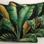 Set Of 2 18 Tropical Throw Pillow Coverstommy Bahama Etsy
