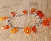Orangesicle Bead Bracelet...