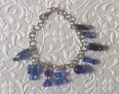 Blue Dangle Bracelet, Blu...