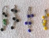 Swirl Glass Bead Bracelet...