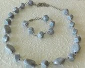 Marble Necklace and Brace...
