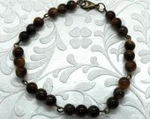 Brown Cat Eye Bracelet