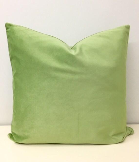 luxury apple green velvet pillow cover green pillows decorative pillow throw pillows velvet cushion case apple green velvet pillows