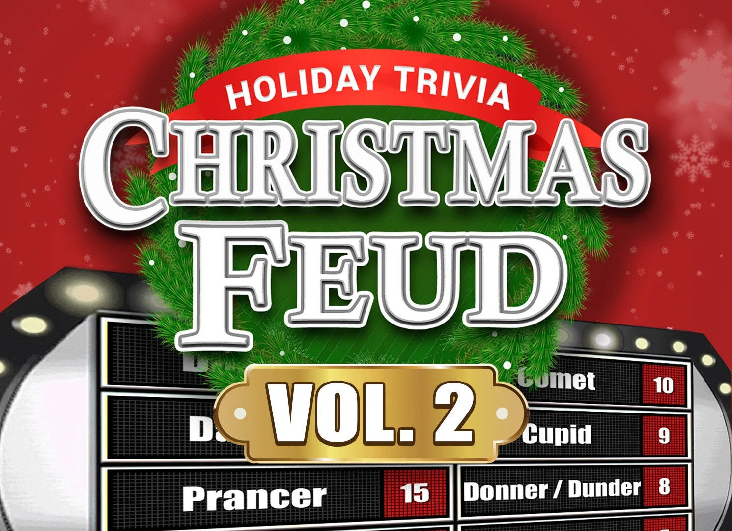 Christmas Feud Vol 2 Family Feud Trivia Powerpoint Game