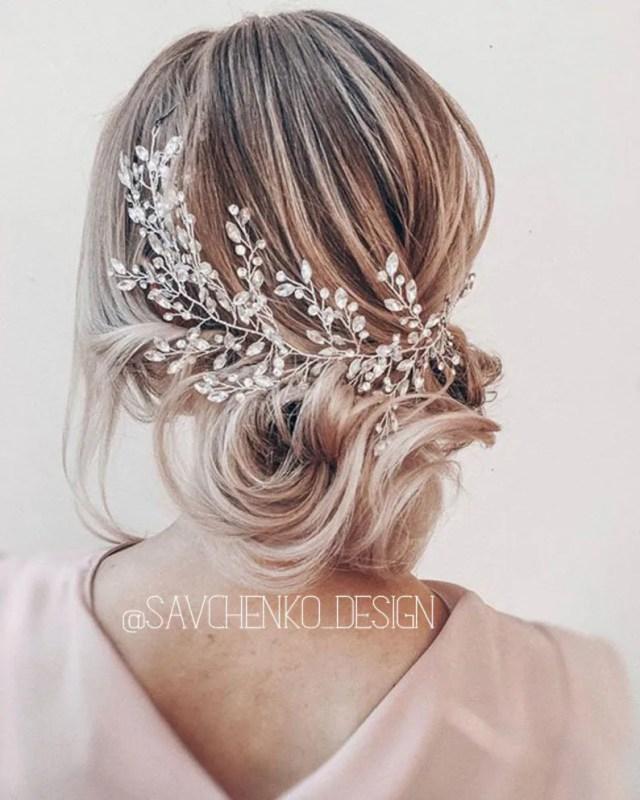 swarovski crystal headbandbridal side hair piece bridal headband crystal wedding hair pieces for wedding bohemian headpiece for bride