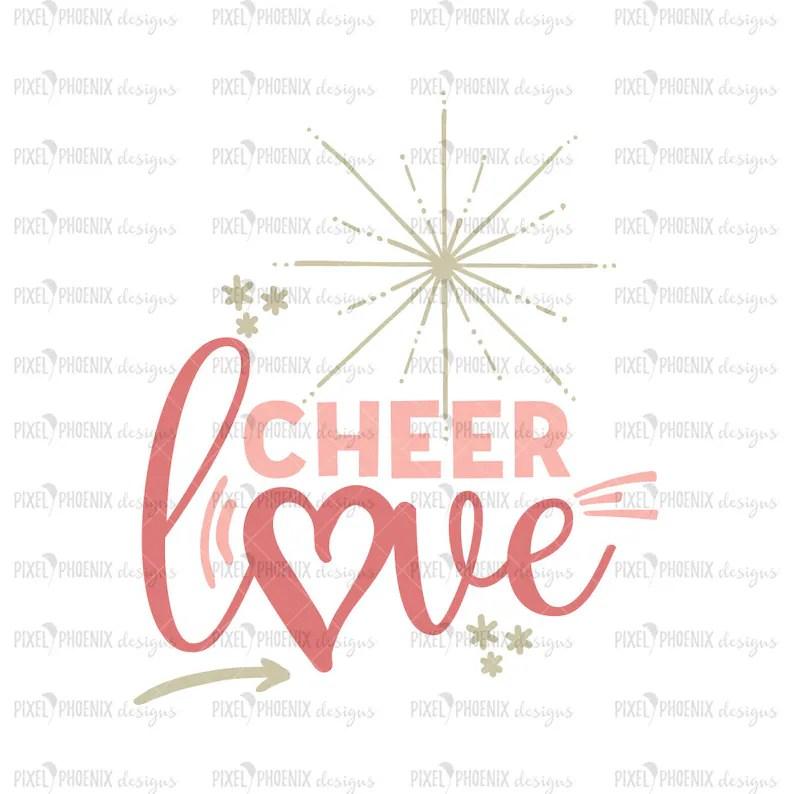 Download Cheer Love SVG Cheer Squad SVG Cheerleader SVG Cheer svg ...
