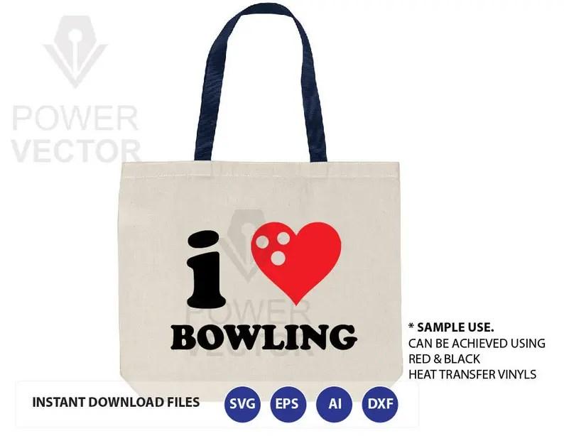 Download Love Bowling Svg. Love Bowling T shirt Design Svg. Love | Etsy