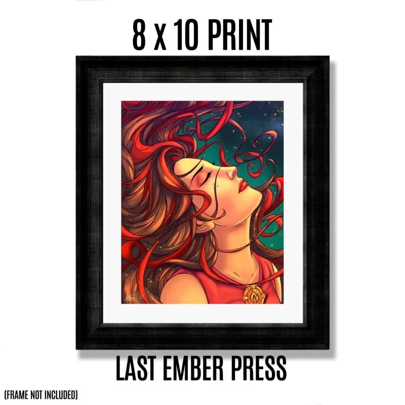 Ember 8 X 10 Art Print - ...