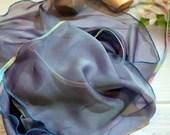 Ballet wrap skirt Mermaid with shimmer