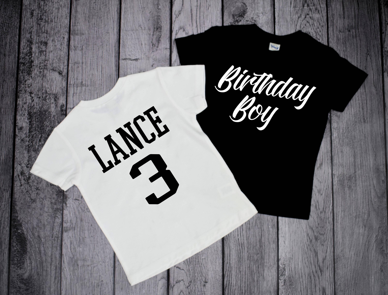 3rd Birthday Boy Shirt Boys 3rd Birthday Shirts 3 Year Old Etsy