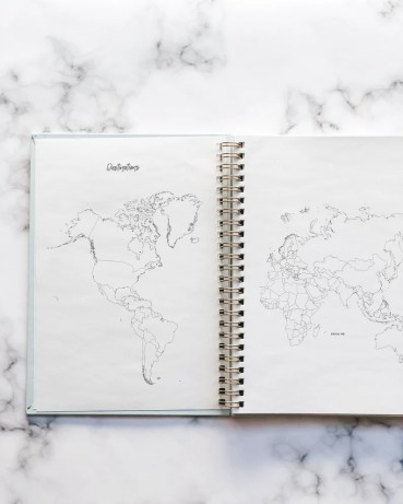 Wander Always: Travel Planner & Journal image 1