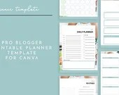 Printable Planner Canva Template