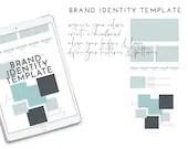 Brand Identity Template | PSD Template | Branding Template