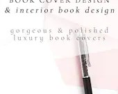 Book Cover Design & Interior Book Design with Social Media Package