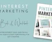 Pinterest Marketing eBook and Workbook - 80k to 14+ Million in 3 Months