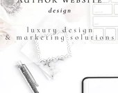 Author Website Design - 20 Pages, Flip HTML Catalog, Enhanced for Search Engines, Includes over 100 Digital Assets & Content Upgrades