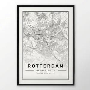 cadiz city map poster print modern