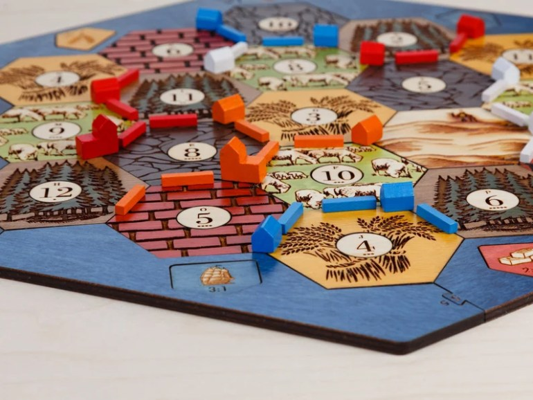 Settlers of catan overrated