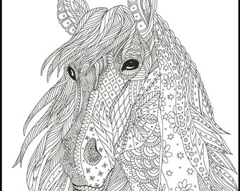 2 Printable Coloring Page For Adults And Kids Fun Coloring Etsy