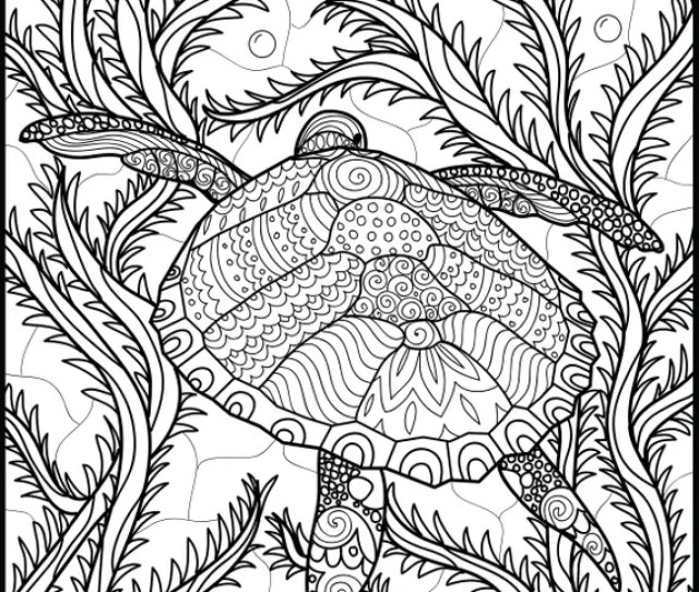 Adult Coloring Pages Animal Coloring Page Printable Etsy