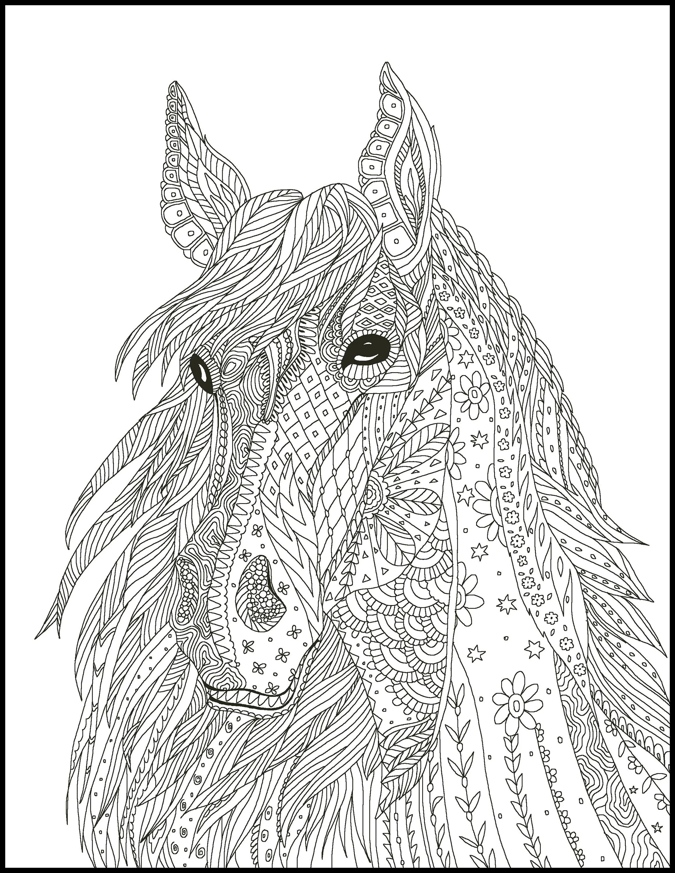 5 Horse Coloring Pages Coloring Pages For Horse Lovers