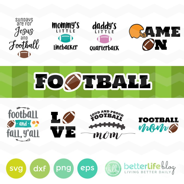 Football SVG Bundle, Foot...