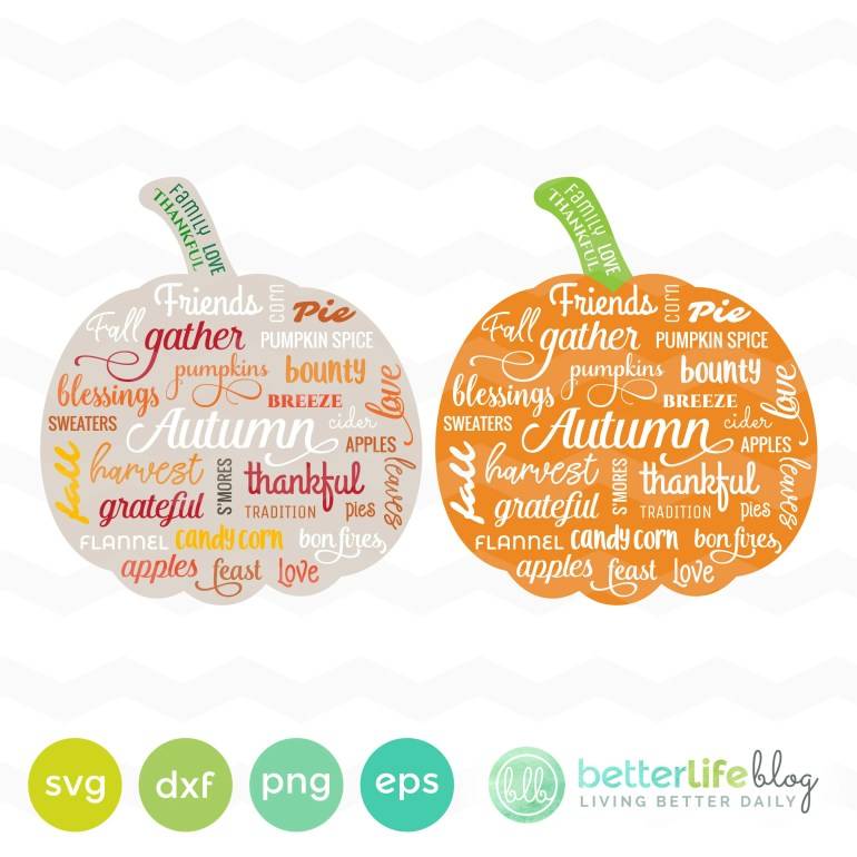 Pumpkin SVG File: Autumn ...
