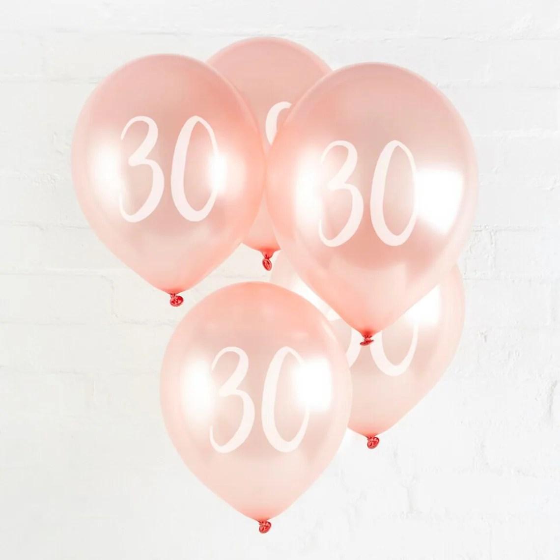 30th Birthday Balloon