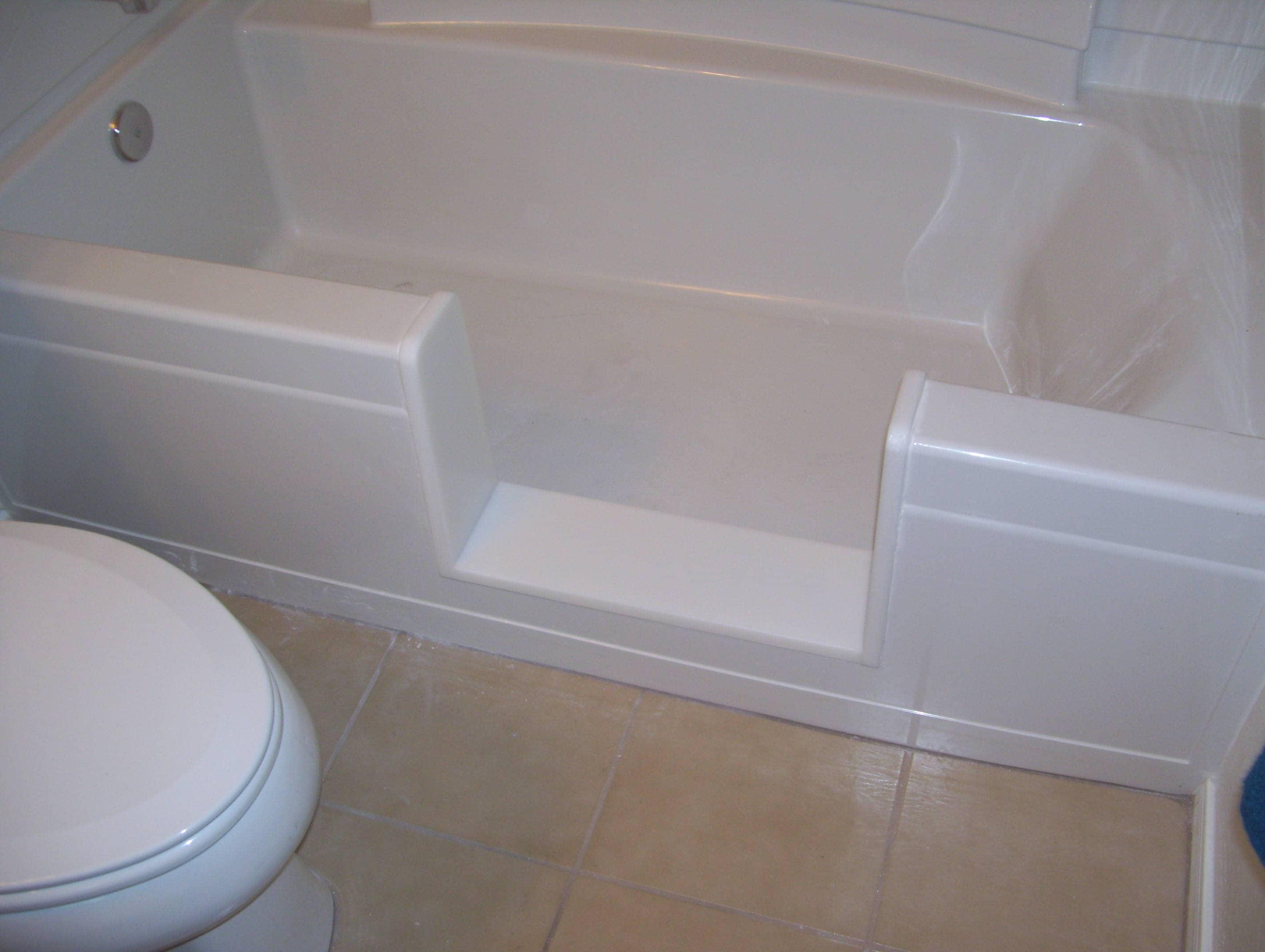 Custom Standard Bathtub To Walk In Shower Conversion Kit