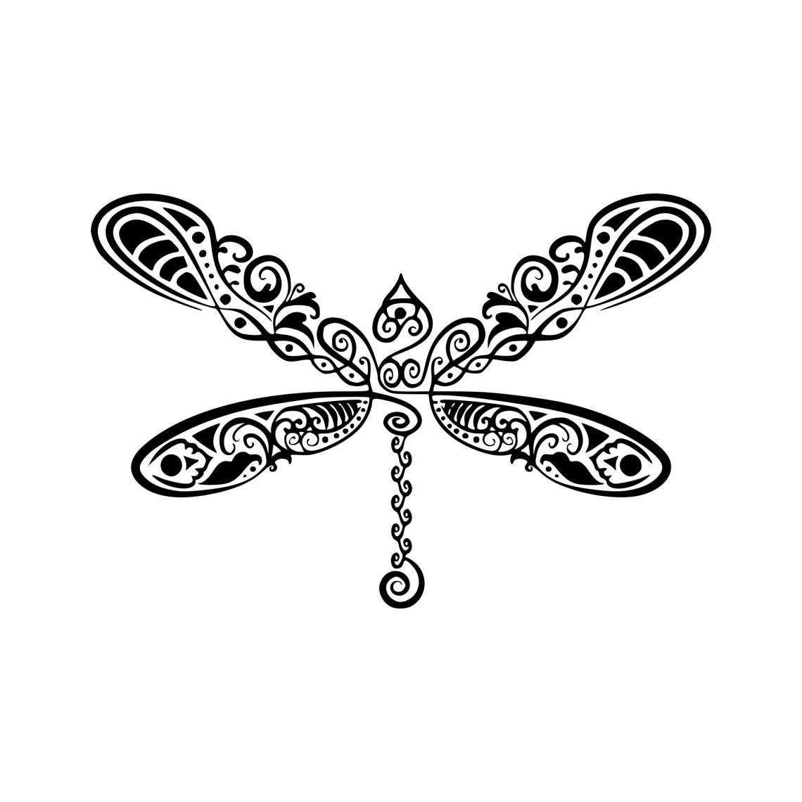 Download Dragonfly svg Dragonfly mandala svg Zentangle dragonfly ...