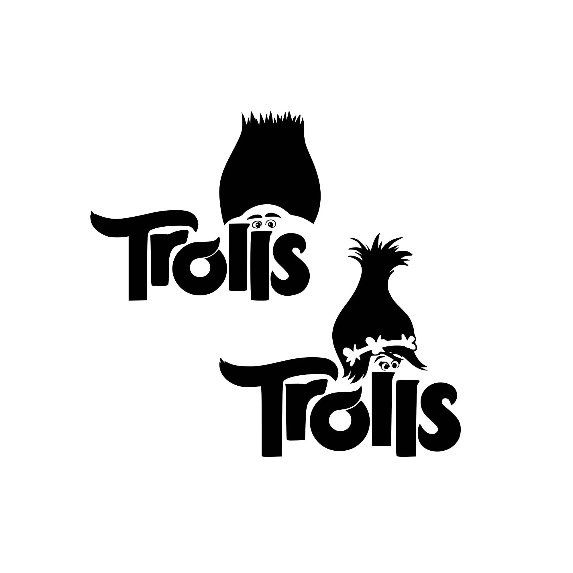 Trolls Svg Troll Hair Svg Disney Svg Disney World Svg
