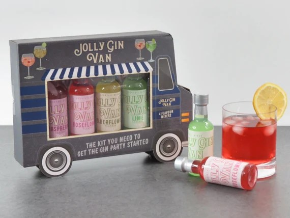 Jolly Gin Van Mixers To Pimp Up Your Gin Gin Gift Gin Etsy