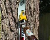 Apres Ski Bottle Opener - Upcycled skis