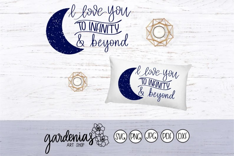 Download I Love You to Infinity and Beyond svg To Infinity and ...
