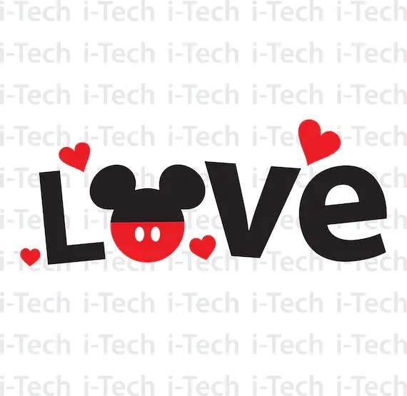Download Love Mickey SVG Mickey SVG disney valentine svg valentine ...