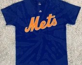 Upcycled Tie Dye New York Mets T-Shirt
