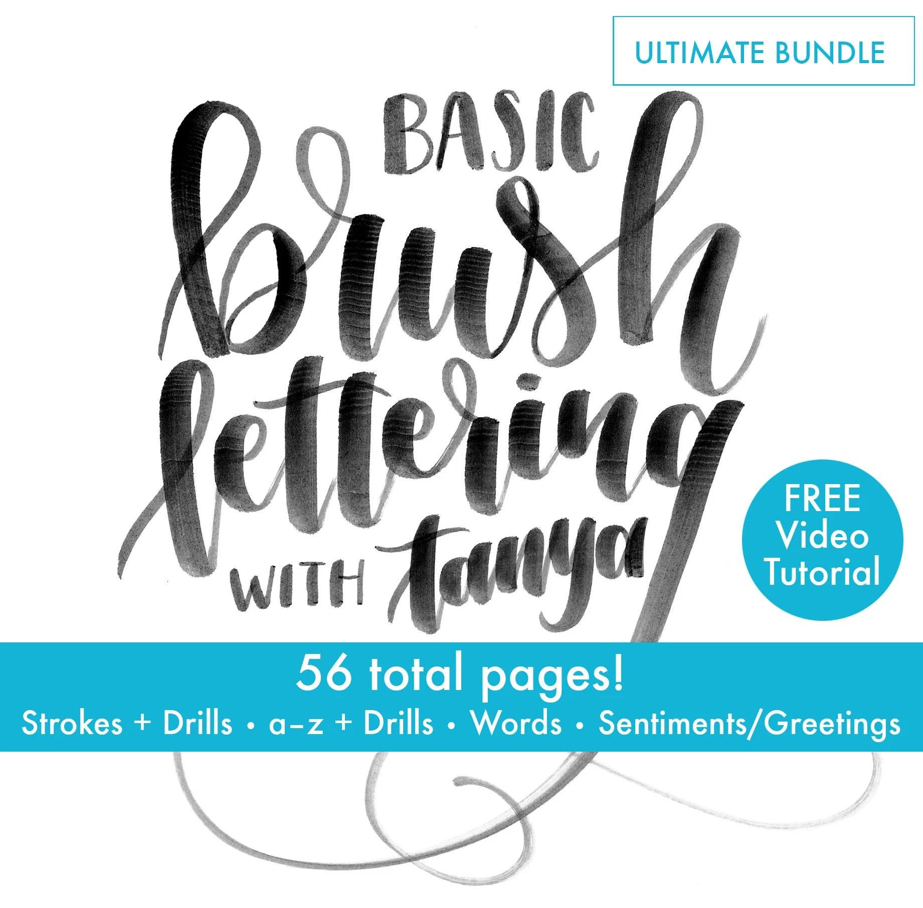 Ultimate Bundle Perfect Beginner Set Brush Lettering