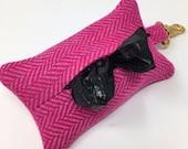 Pink Tweed Dog Poop Bag D...