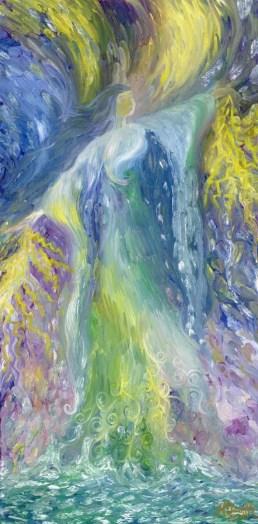 Lady Elemental Reiki Art Energy Art Elements Giclee Print | Etsy